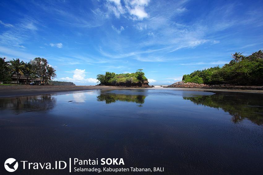 Tempat Wisata Pantai Soka, Bali, Indonesia