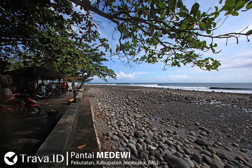 Tempat Wisata Pantai Medewi, Bali, Indonesia