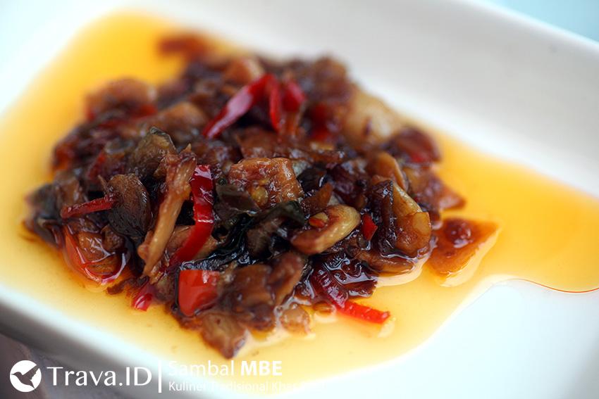 Sambal Mbe Kuliner Khas Bali