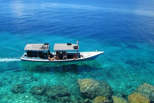Wisata Pulau Menjangan, Bali, Indonesia