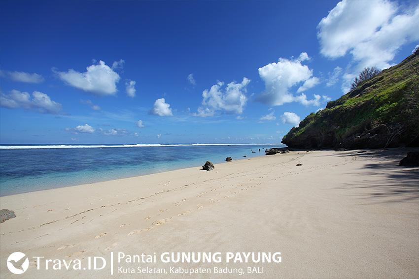 Wisata Pantai Gunung Payung Bali