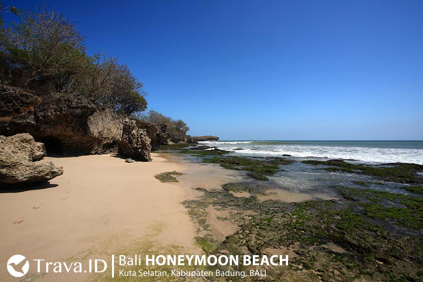 Tempat Wisata Bali Honeymoon Beach, Bali, Indonesia