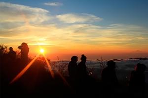 Mendaki Gunung Batur, Kintamani, Bali