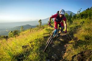 Mountainbike Batur, Kintamani, Bali